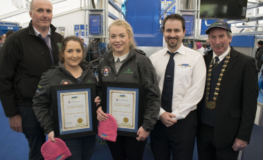 """Absolute honour to win the Dairymaster Student Award"" says Ellen"