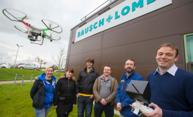 WIT and Bausch + Lomb take to the skies with drone collaboration