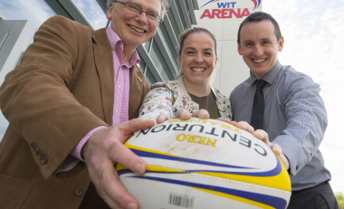 Rugby star named as WIT Arena's inaugural Sporting Ambassador
