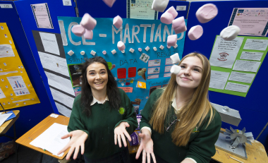 Second level Science projects showcased at SciFest 2017