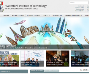 New WIT Website nominated for prestigious award