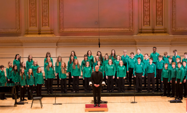 WIT Youth Choir receive invitation to perform at Carnegie Hall