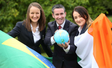 Team Ireland on their way to World Skills in Sao Paulo