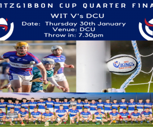 WIT in their first Fitzgibbon Cup quarter final after a four year absence