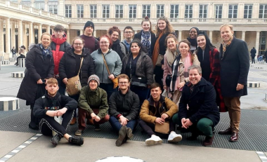 Culinary Arts students' gastronomic tour of the French capital