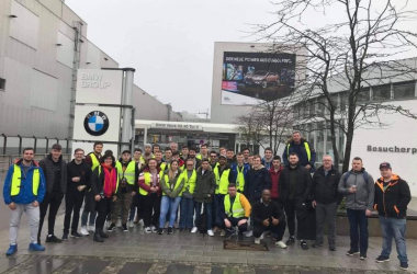 WIT Engineering Society on their class trip to Munich