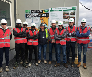 Civil Engineering students visit multi-million euro construction project at Bausch & Lomb