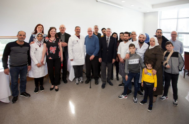 WIT Student Chefs team up with Local Syrian community