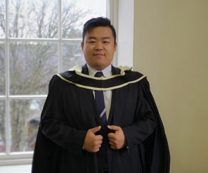 First student from Qingdao College in China talks about life in Waterford