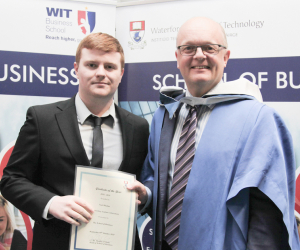School of Business Graduate of the year award goes to Noel