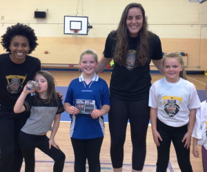 Aspiring sports stars gain unique coaching opportunities at Basketball Hall of Fame Belfast Classic