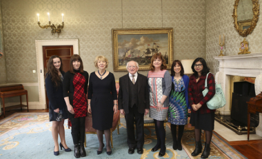 Women in Science Spring Reception at Áras an Uachtaráin