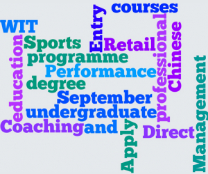 New undergraduate courses in Sport, Retail and Business with Chinese