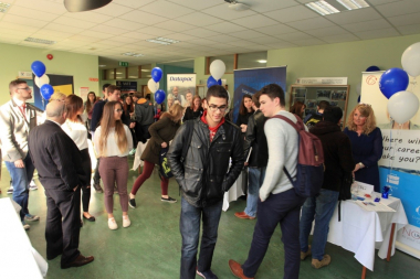 Top employers meet with School of Business students