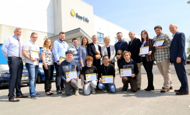 Sun Life Financial continues to recognise IT talent in the South East