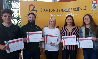 Sport and Exercise students recognised in 2019 Honours List