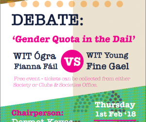 Debate: Gender Quota in the Dail