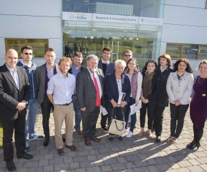 Romanian Study Group Visits ArcLabs