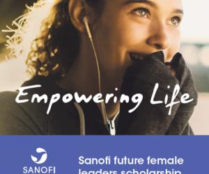 SANOFI Future female leaders scholarship - Waterford