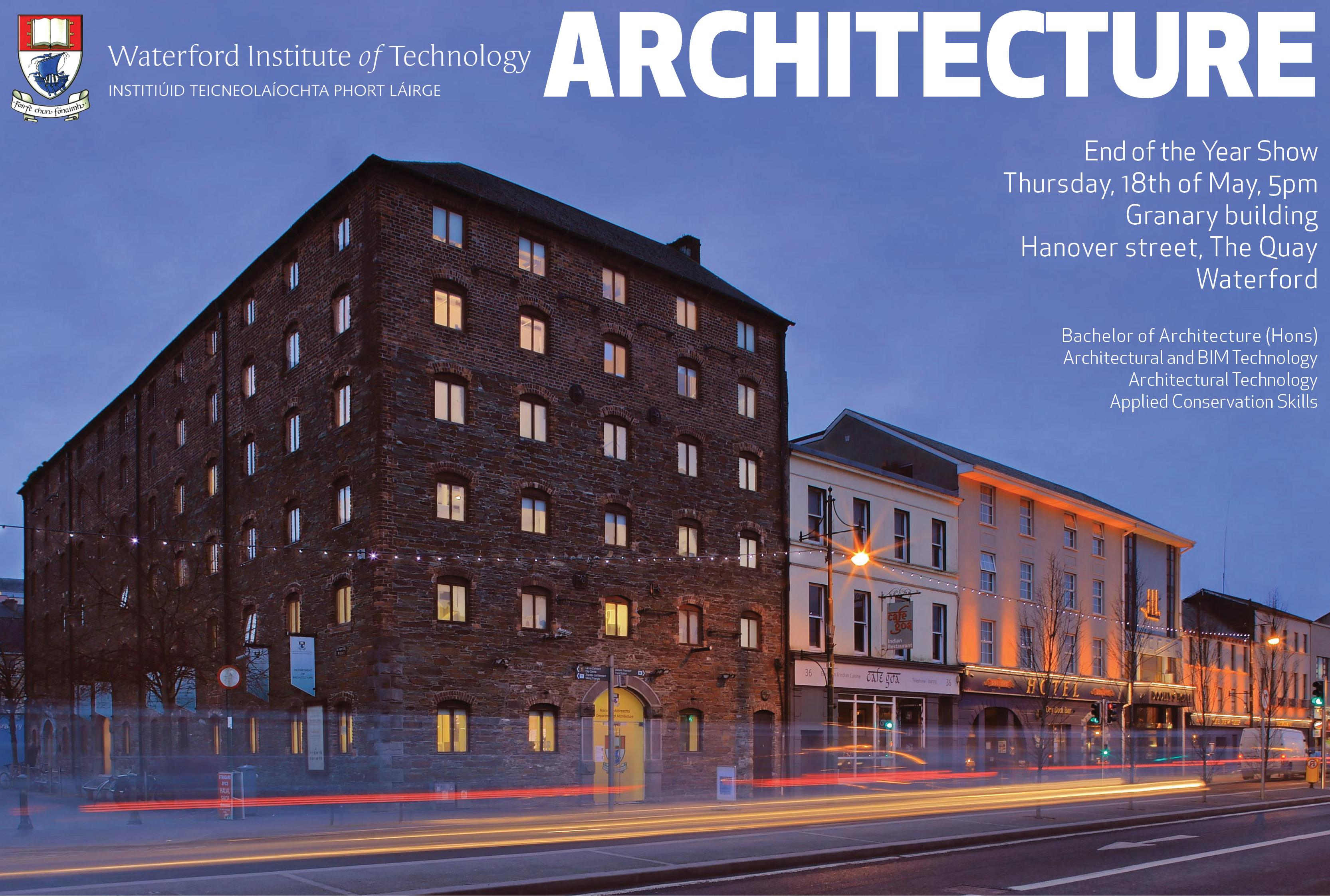 Architecture End of Year Show 2017
