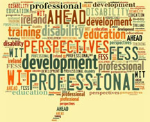 Perspectives on Disability and Professional Development in Further Education and Training