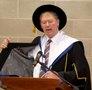 Honorary fellow of WIT Mícheál Ó Muircheartaigh