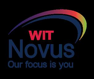 novus logo wit