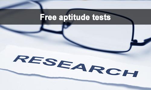 free aptitude tests