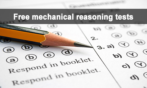 free mechanical reasoning tests