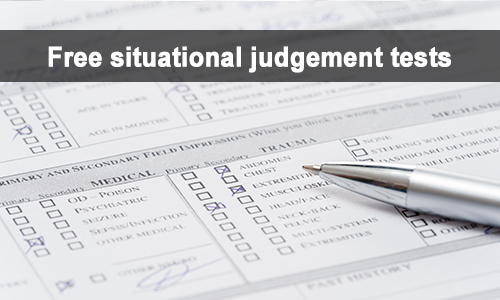 free situaional judgement tests