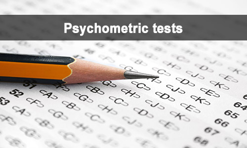careers advice and psychometric tests