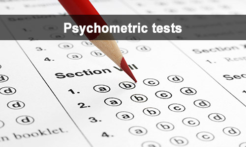 interviews psychometric tests