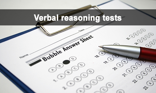 verbal reasoning tests