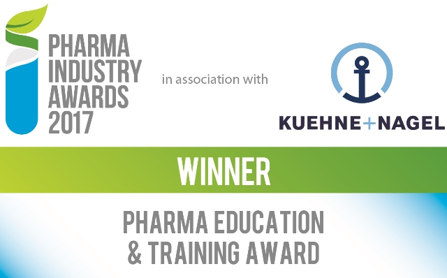 Winner of the Pharma Industry awards 2017