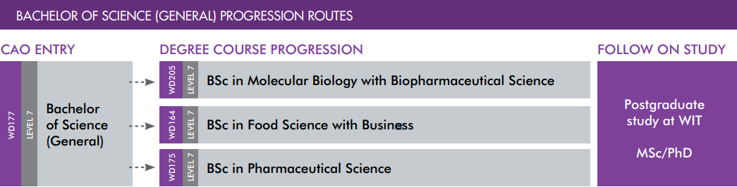 Bachelor of Science (General Progression Route)