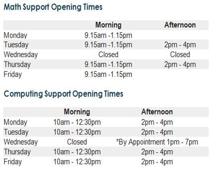CMLC Timetable
