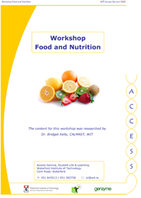 Food and Nutrition workshop pic