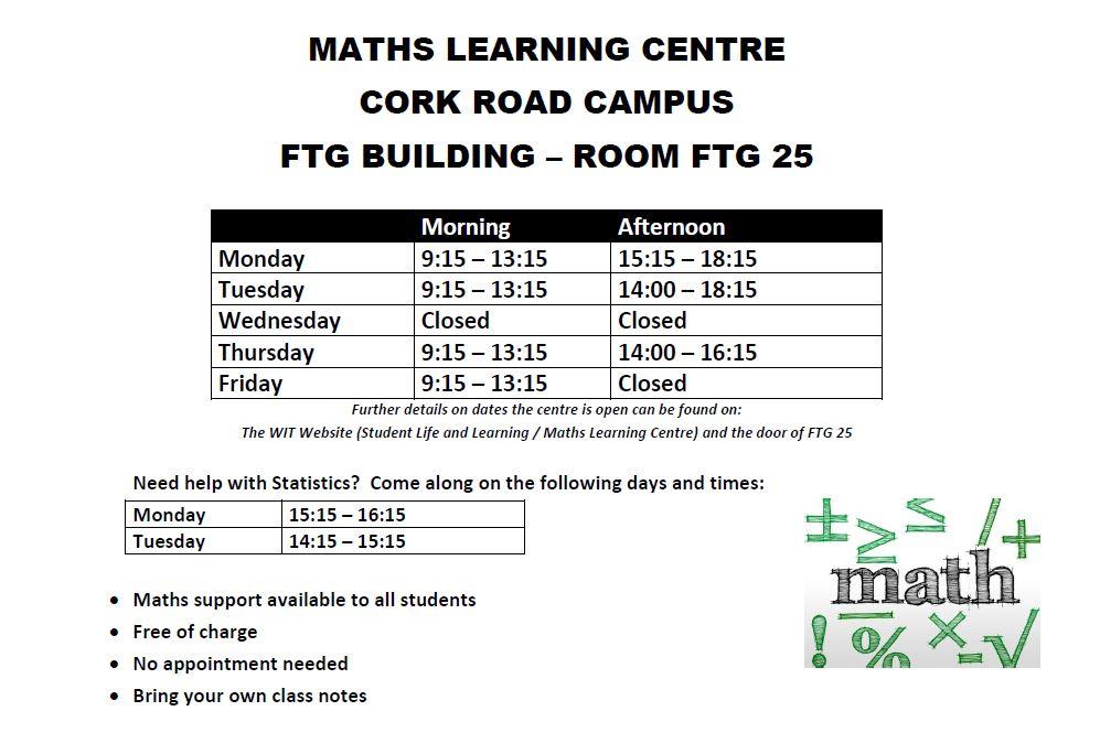 MLC Timetable details