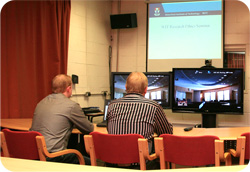 Video conference at WIT