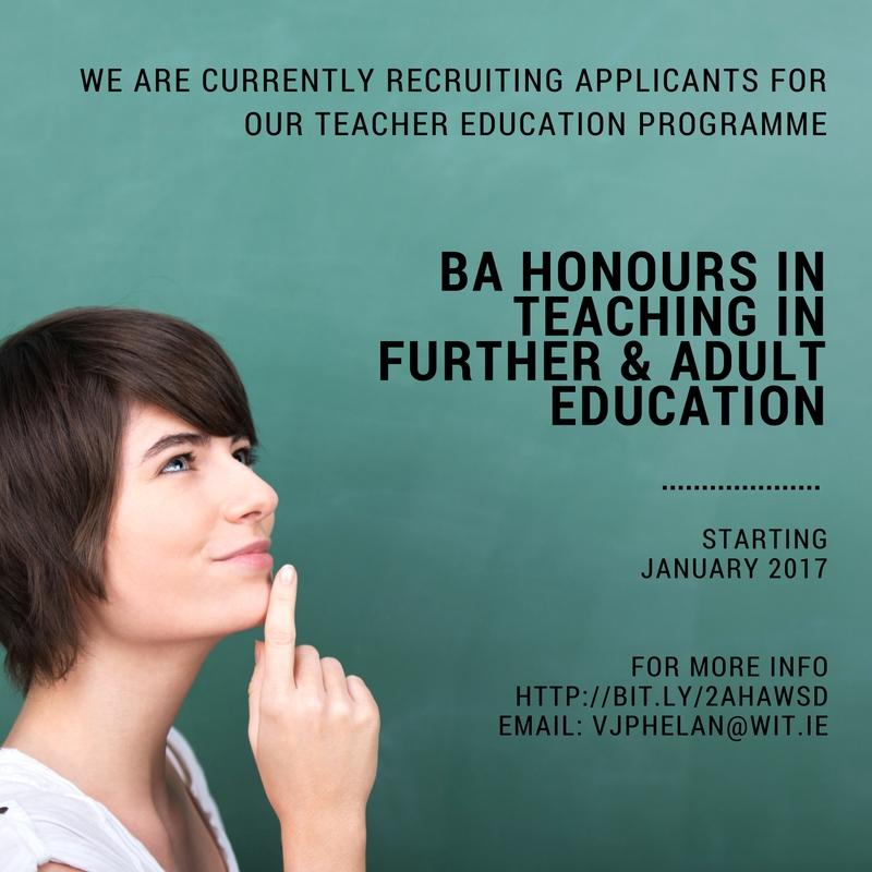 BA Hons in Teaching Promotional Image