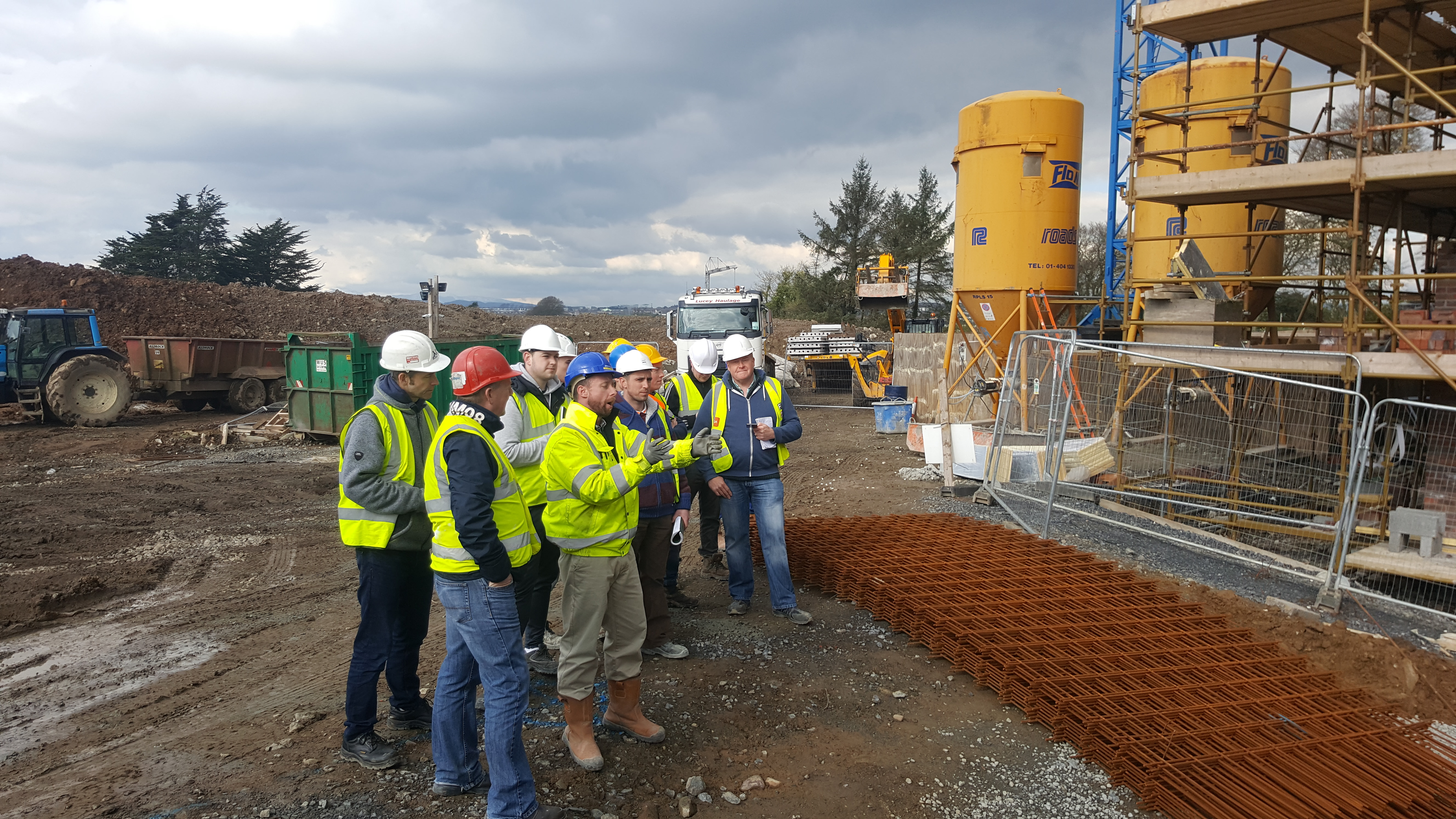 second year Quantity Surveying undergraduates undertook a site visit to the proposed Primary Care unit at St Otterans Waterford.