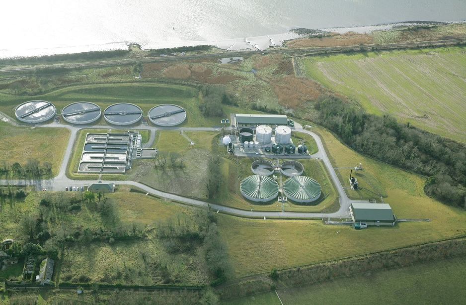Waterford wast water treatment plant