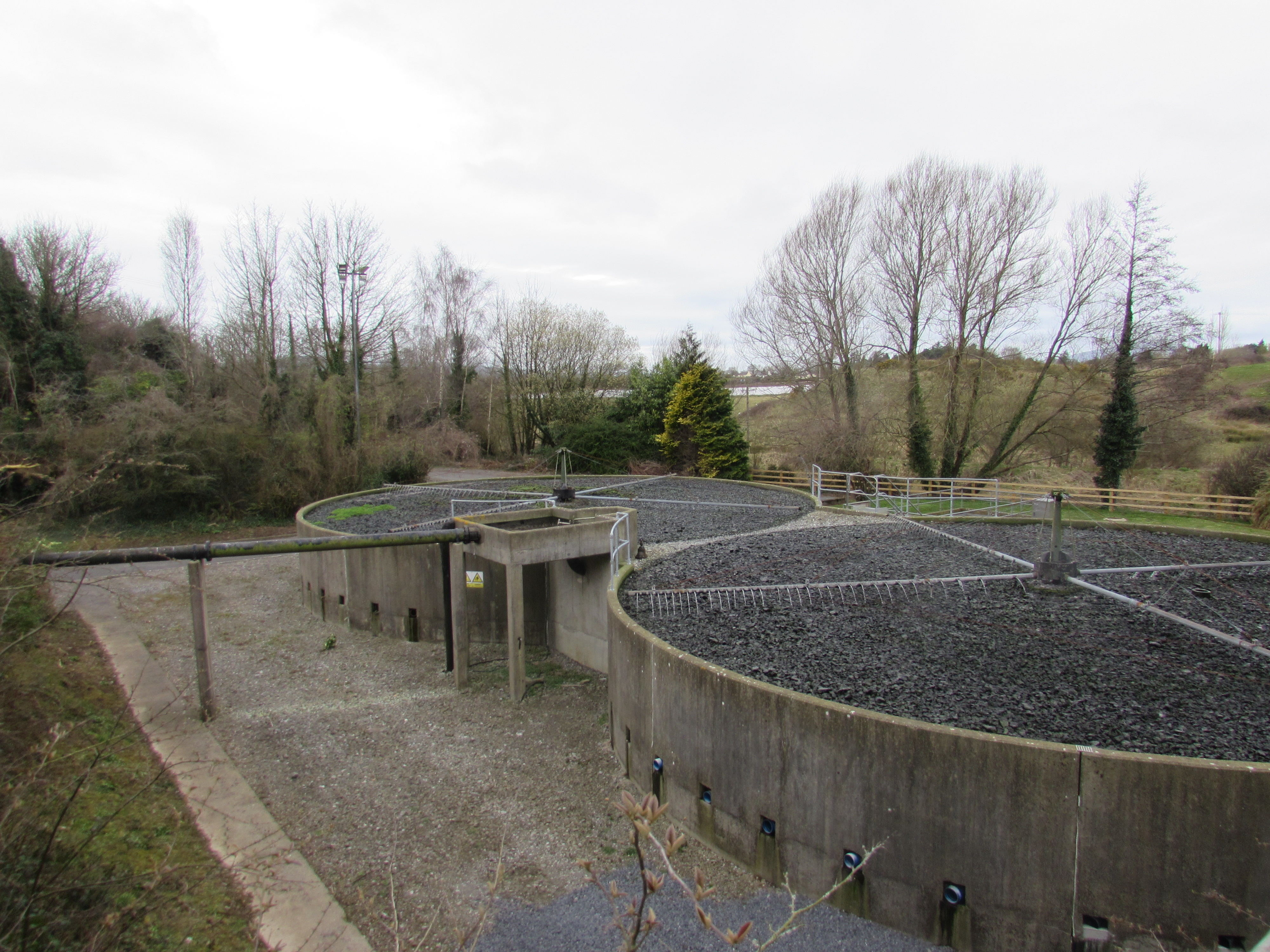 Biological oxidation of wastewater