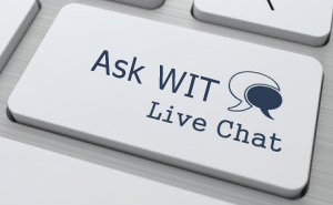 Ask WIT: CAO Offers LIVE Web Chat
