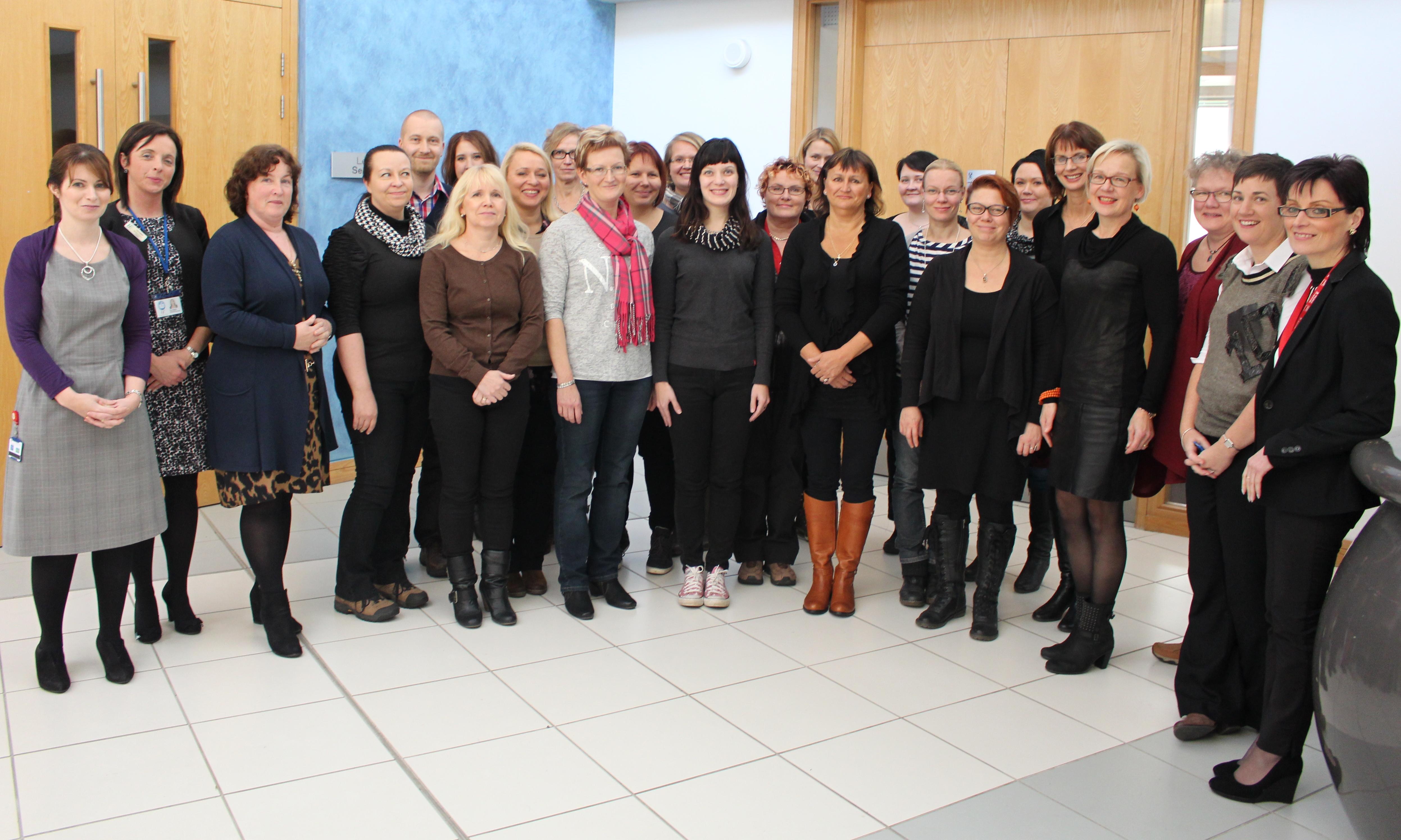 Finnish Delegation from Saimaa University