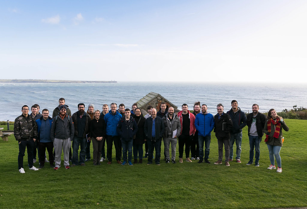 Students and staff of the school of engineering at WIT had a great day out in the Coastguard Cultural Centre in Tramore