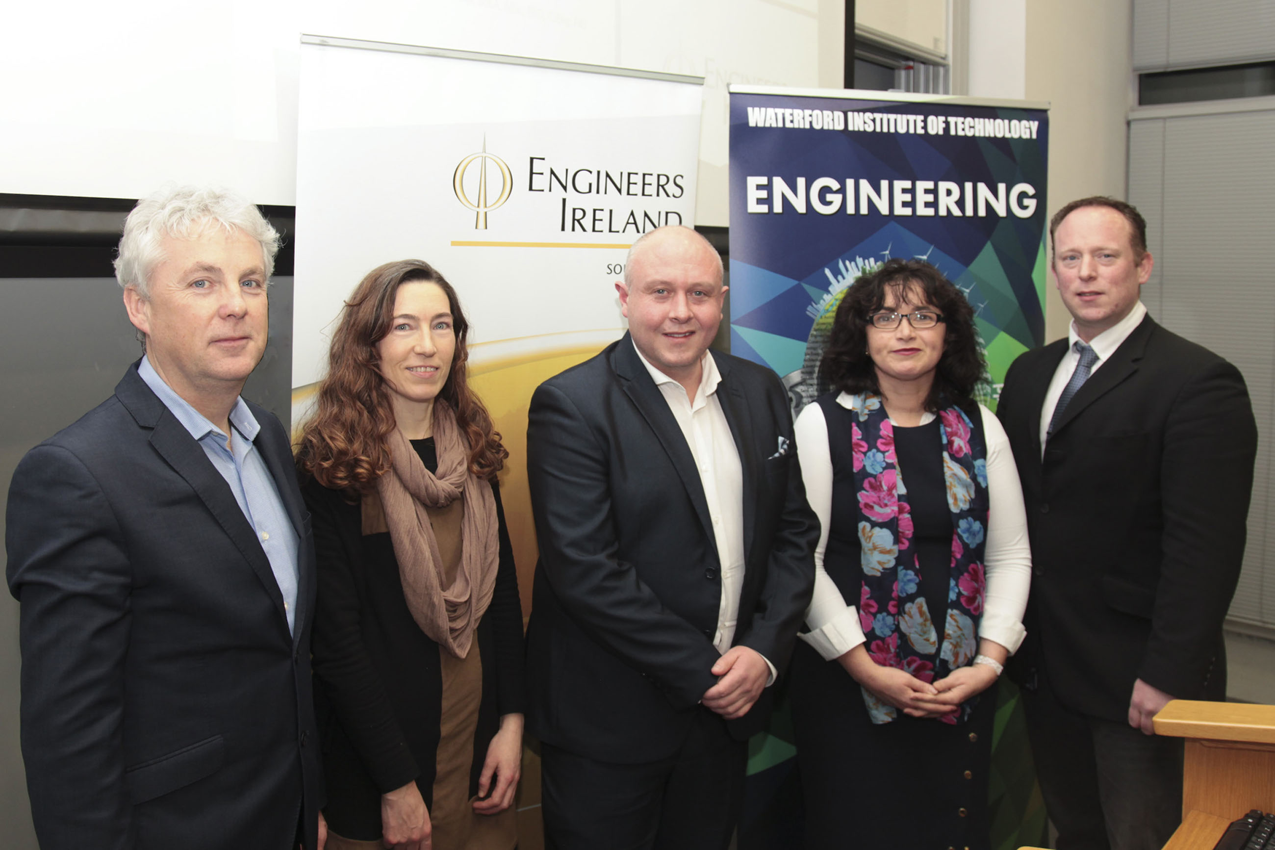 Dr Kennedy's Biomedical talk was hosted by Engineers Ireland South East Region and the School of Engineering Waterford Institute of Technology