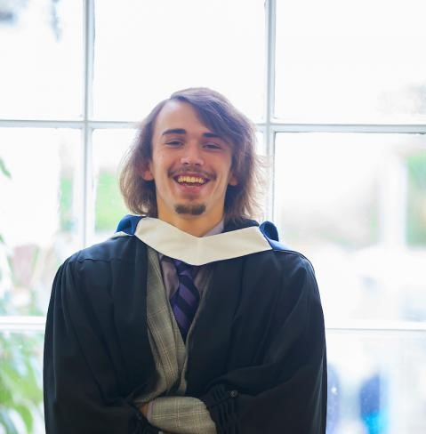 WIT student James Robinson Walsh, who is currently studying the BSc (Hons) Applied Biology with Quality Management