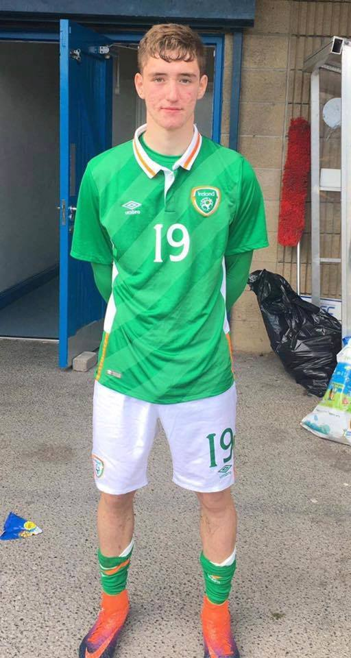 John Martin selected for the u19 Irish squad