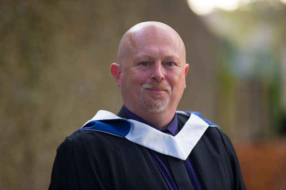 WIT graduate Mark McManus at his graduation at the College St campus